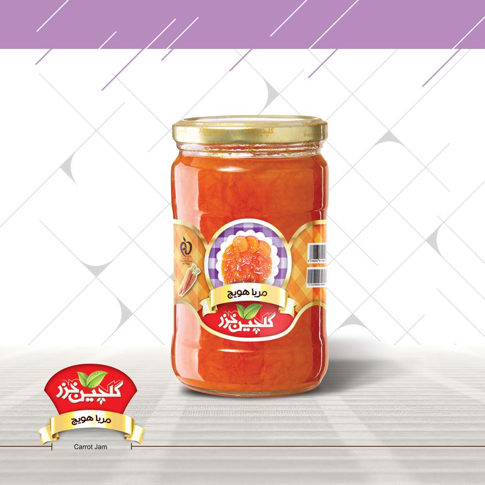 محصولات غذایی گلچین خزر